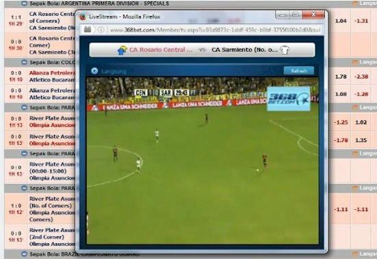 Live streaming dan prediksi agen bola sbobet terpercaya