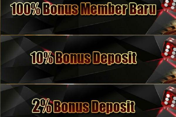 Bonus judi online Sbobet untuk member