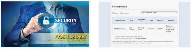 Keramanan sistem transfer di website resmi Sbobet online