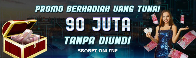 Promo bonus di situs agen judi sbobet online terpercaya