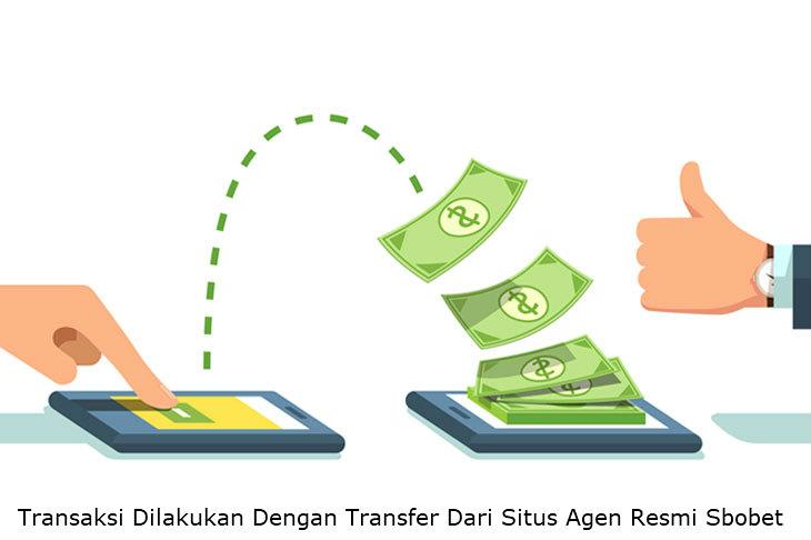 Trasnsfer uang hasil kemenangan judi online di Sbobet